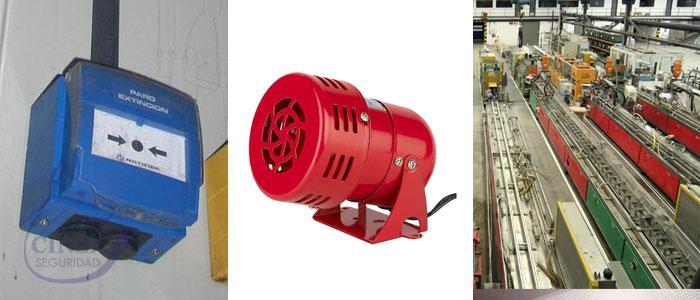 Alarmas Industrial y Fábricas